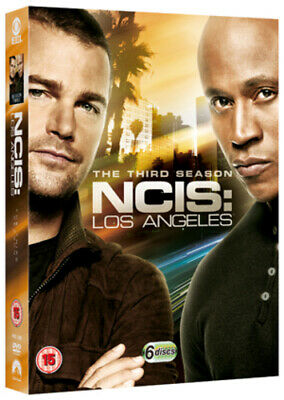 NCIS Los Angeles: The Third Season DVD (2012) Chris O'Donnell cert 15 6 discs