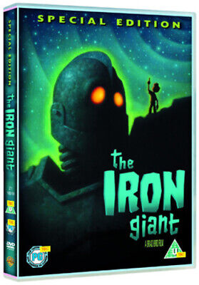The Iron Giant DVD (2005) Brad Bird cert U Incredible Value and Free Shipping!