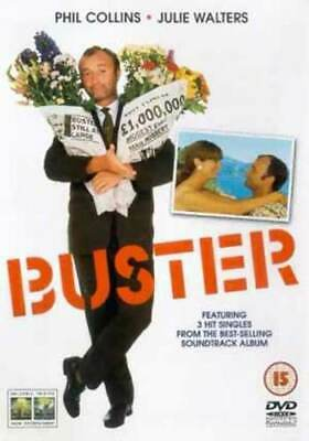 Buster DVD (2003) Phil Collins, Green (DIR) cert 15 Expertly Refurbished Product