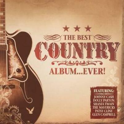 Various Artists : Best Country Album...ever CD 2 discs (2006) Quality guaranteed
