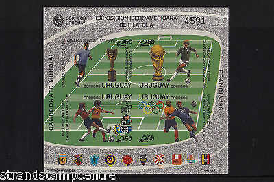 Uruguay - 1996 World Cup Football - U/M - SG MS2259 IMPERF