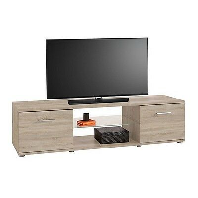 tv bank tv kommode lowboard board schrank wohnzimmer clay. Black Bedroom Furniture Sets. Home Design Ideas