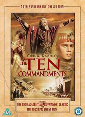 The Ten Commandments DVD (2006) Charlton Heston