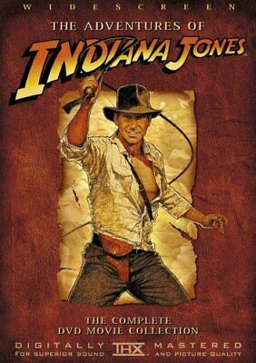 Indiana Jones Trilogy DVD (2007) Harrison Ford