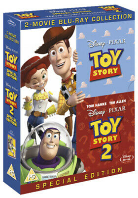 Toy Story/Toy Story 2 Blu-ray (2010) John Lasseter cert PG Fast and FREE P & P