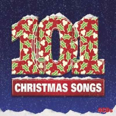 Various Artists : 101 Christmas Songs CD 4 discs (2007) FREE Shipping, Save £s