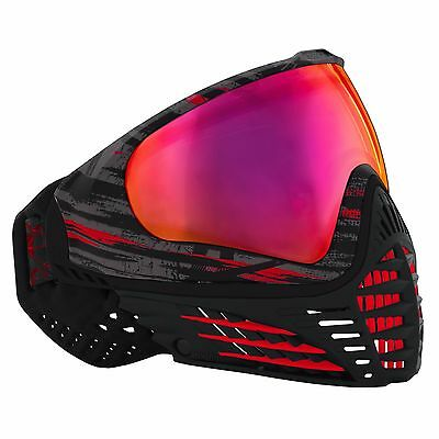 Virtue Vio Contour Thermal Mask - Graphic Fire - Paintball