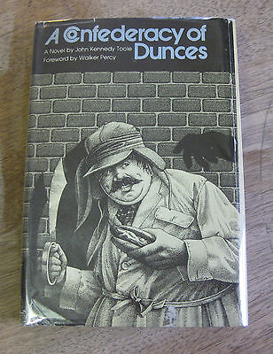 A CONFEDERACY OF DUNCES by John Kennedy Toole - 1st/3rd  - HCDJ 1980 VG $12.95