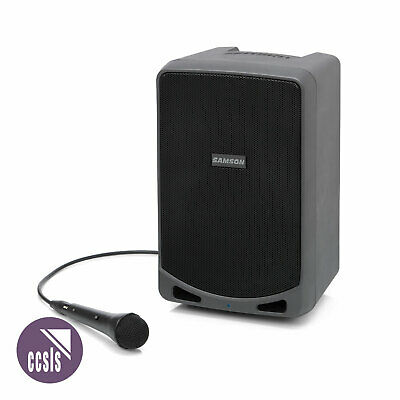 Samson Expedition Xp106 Rechargeable Battery Portable Pa System With Bluetooth