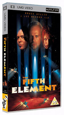 The Fifth Element  DVD UMD Mini for PSP