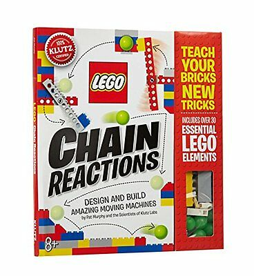 LEGO Chain Reactions: Make Amazing Moving Machines by Klutz (Toy) New (CXX)