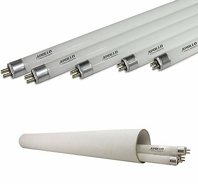 Apollo Horticulture 2 FT 6400K T5 Fluorescent Grow Light Bulbs - Pack of 5 NEW