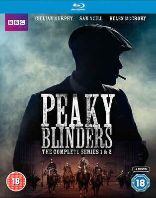 Peaky Blinders: The Complete Series 1 and 2 Blu-Ray (2014) Paul Anderson cert