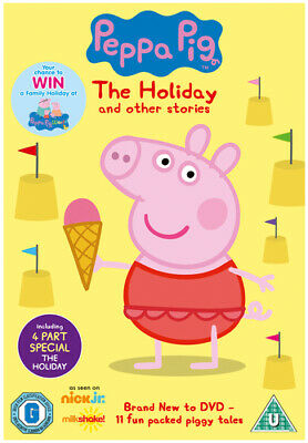 Peppa Pig: The Holiday and Other Stories DVD (2013) Harley Bird