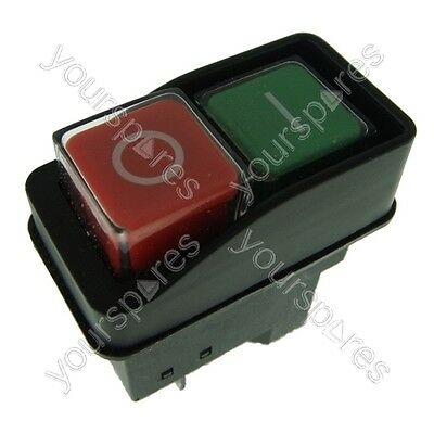 On Off Switch Button Fits Belle Minimix 150 240V Electric Cement Concrete Mixer