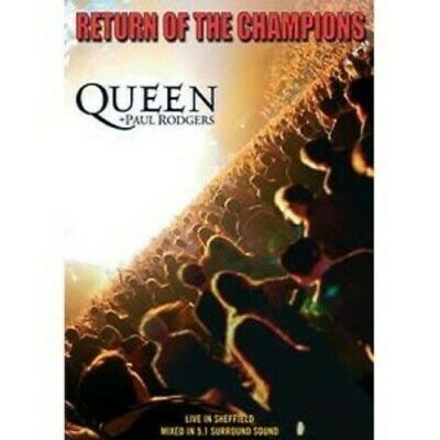 Queen and Paul Rodgers: Return of the Champions DVD (2005) Queen cert E