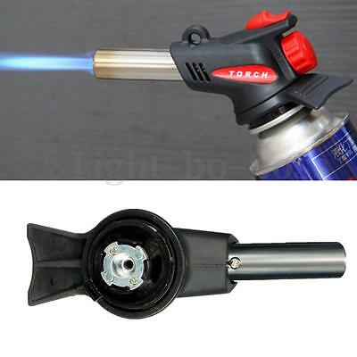 Flamethrower Burner Butane Auto Ignition Gas Blow Torch Outdoor Welding BBQ Tool
