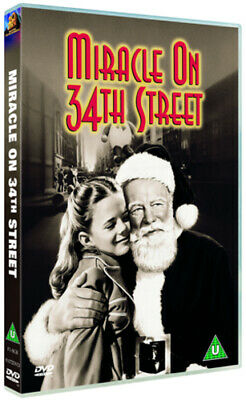 Miracle On 34th Street DVD (2000) Edmund Gwenn, Seaton (DIR) cert U Great Value
