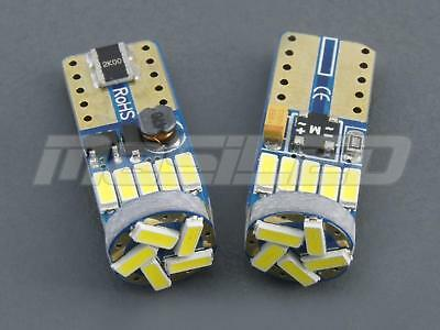 2 Bombillas led coche moto Canbus T10 W5W 15 smd 4014 SAMSUNG 5000K - led bulbs