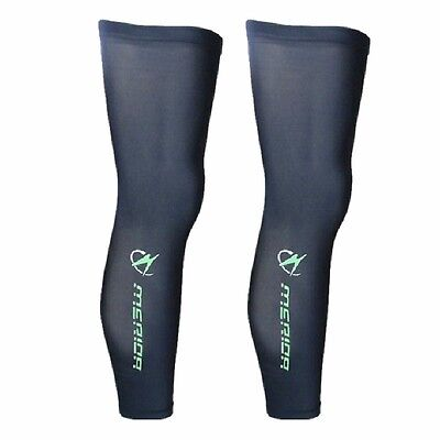 MERIDA Winter Cycling Leg Warmers UV Protection Bicycle Leg Covers Guard Knee