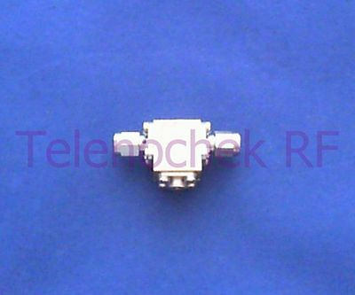 RF microwave single junction isolator 9300 MHz - 16.3 GHz / 5 Watt / data