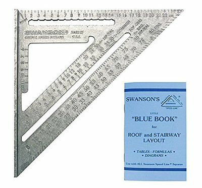 Swanson NA202 Metric Speed Square Layout Tool (Aluminum) Size: Metric (25cm) NEW