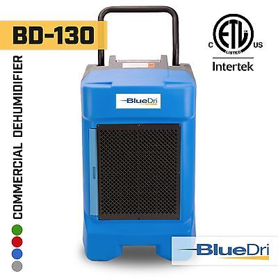 BlueDri® BD-130P 225PPD High Performance Industrial Commercial Dehumidifier Blue