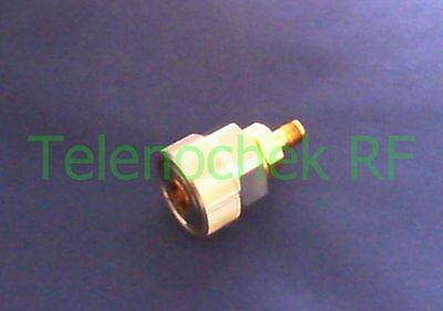 RF microwave coaxial adapter APC-7mm to 3.5mm(f) / DC - 18 GHz