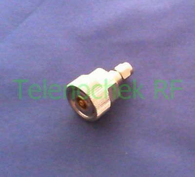 RF microwave coaxial adapter APC-7mm to 3.5mm(m) / DC - 18 GHz