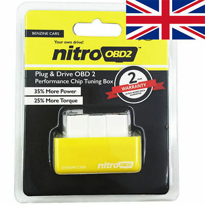 OBD2 Petrol Chip Tuning Remap Box. Plug In & Drive . Fits Mercedes