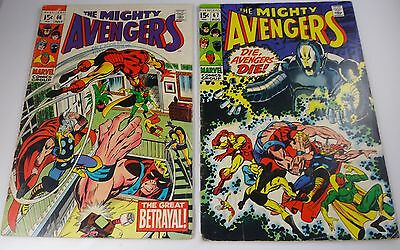 Avengers #66,67 Barry Smith Classic Ultron  Vg/fn