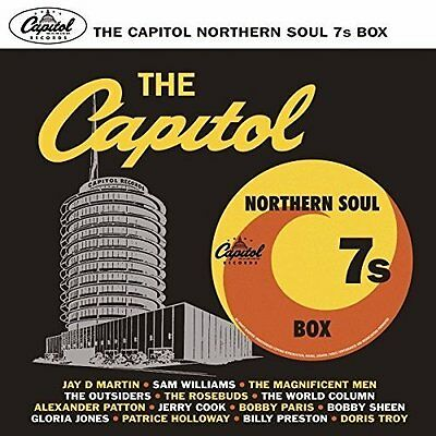 Various Artists-The Capitol Northern Soul 7s Box Set VINYL NEU
