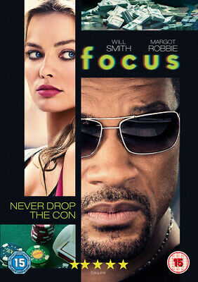 Focus DVD (2015) Will Smith