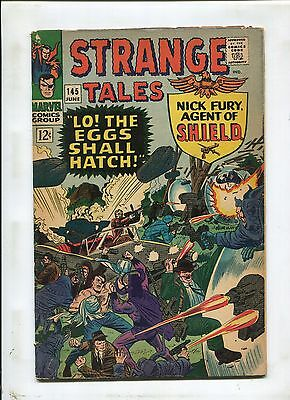Strange Tales #145 ~ Nick Fury Agent Of Shield Lo The Eggs Shall Hatch ~(4.5) WH