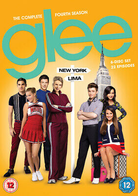 Glee: Season 4 DVD (2013) Chris Colfer cert 12 Expertly Refurbished Product