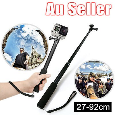 GoPro Monopod Pole Mount Handle Selfie Stick Telescopic Go Pro Hero 6 5 4 3+ 3 2