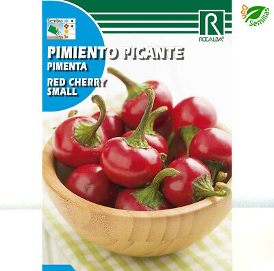 Pimiento Red Cherry Small Picante ( 0,5 gr / 70 semillas aprox ) seeds