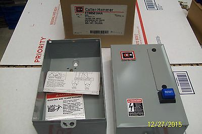 *new* Cutler Hammer Starter Enclosure Only Ecn0501Aaa, 84-28691-13