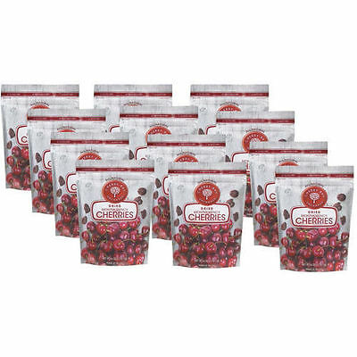Cherry Bay Orchards Dried Montmorency Cherries 12pack 6oz Bags FREE SHIPPING