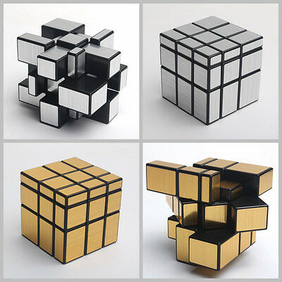 New Singular Ultra-smooth Pro Speed Puzzle Twist Golden / Sliver Magic Cube