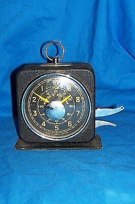 Old Clock Picker X-Ray Corp Interval Timer British English S. Smith Sons Vintage