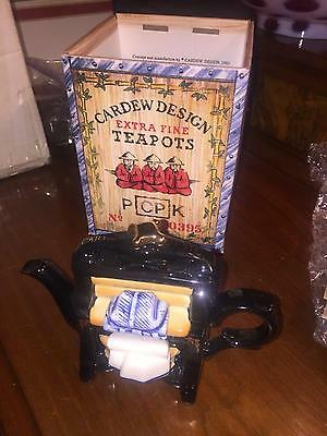 New In Box 1993 Cardew Extra Fine Teapot Washing Mangle