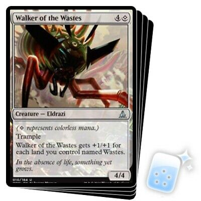 Walker of the Wastes *PLAYSET* Magic MtG x4 Oath of the Gatewatch SP