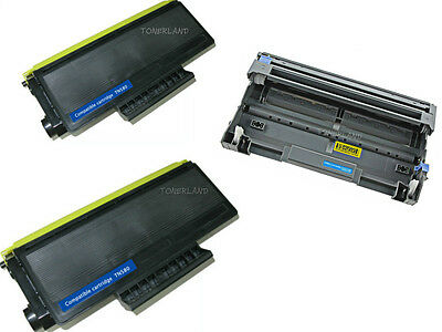 2x TN580 Toner+ DR520 Drum For Brother HL-5240 5250DN MFC-8460N 8660DN DCP-8060