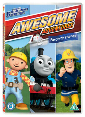 Awesome Adventures: Favourite Friends DVD (2012) Thomas the Tank Engine