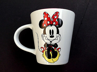 DISNEY STORE Mug MINNIE MOUSE Bow Cup NEW