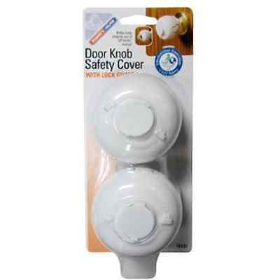 Door Knob Guard Toddler Kids Safety Keep Out Cover No More Accidental Lock Outs