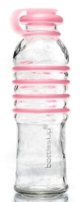 BottlesUp - Glass Water Bottle Pink - 22 oz.