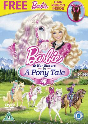 Barbie and Her Sisters in a Pony Tale DVD (2013) Kyran Kelly