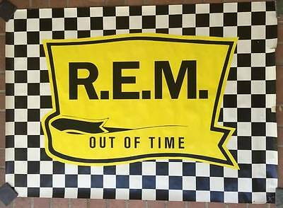 R.E.M. Out of Time HUGE Promo Poster 42 x 58.5 REM Rare